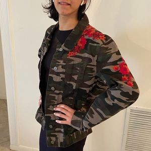 Embroidered anthropology jacket